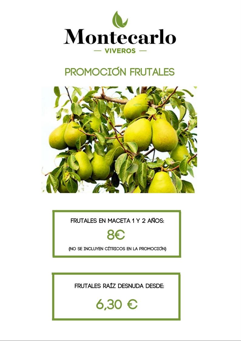 promoción frutales